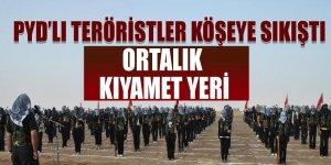 PYD'li teröristler: 'Ortalık kıyamet yeri'