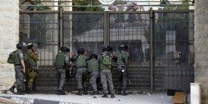 İsrail ordusu o bölgeye girişleri kapattı