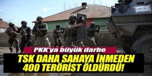 Mete Yarar : 'TSK sahaya inmeden 400 terörist öldürüldü'