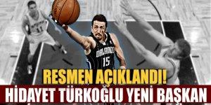 Türkiye Basketbol Federasyonu başkanlığına Hidayet Türkoğlu seçildi