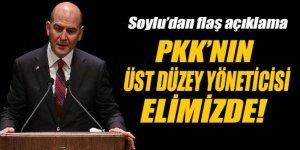 'Elimizde PKK'nın önemli düzeydeki yöneticilerinden birisi var'