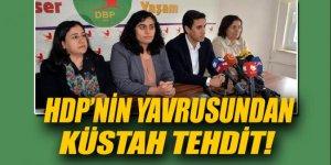DBP'li Tuncel Türkiye'yi küstahça tehdit etti!