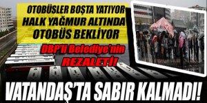 DBP'li belediyenin hizmeti aksatması vatandaşı bezdirdi