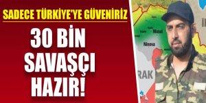 Ebû Hattab'dan Türkiye'ye meseaj: 30 bin savaşçı hazır!