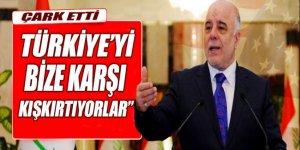 İbadi: Türkiye'yi bize karşı tahrik ediyorlar