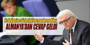Almanya, Erdoğan'ın sözlerini hazmedemedi
