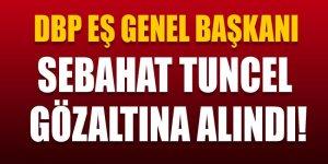 DBP Eş Genel Başkanı Sebahat Tuncel gözaltına alındı!