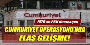 'Cumhuriyet' operasyonunda 2 kişi serbest bırakıldı