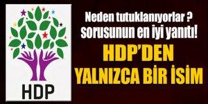 HDP'den bugüne kadar sadece bir kişi ifadeye gitti!