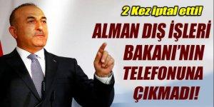 Çavuşoğlu Setinmeier'in telefonlarına çıkmadı