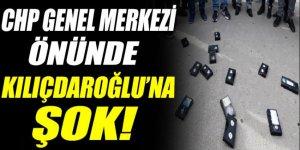 Kılıçdaroğlu CHP Genel Merkezi önünde protesto edildi