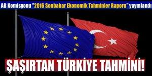 AB'nin 'Ekonomik Tahmin Raporunda'ki Türkiye tahmini