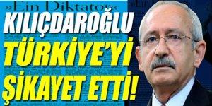 Kılıçdaroğlu Almanlara Türkiye'yi şikayet etti