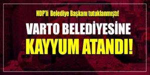 HDP'li Varto Belediyesi'ne kayyum atandı