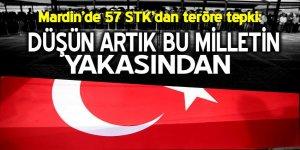 Mardin'de 57 sivil toplum kuruluşu teröre karşı sesini yükseltti