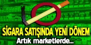 Sağlık Bakanı'ndan açıklama: Sigara satışında yeni dönem