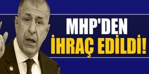 Ümit Özdağ, MHP'den ihraç edildi!
