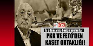 PKK ve FETÖ'den Kaset Ortaklığı