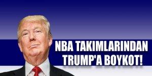 NBA takımlarından Trump'a boykot
