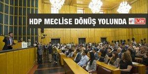 HDP Meclise dönüş yolunda!