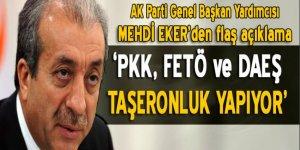 'PKK, FETÖ ve DEAŞ, taşeronluk yapıyor'