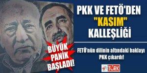 PKK ve FETÖ'den 'Kasım' kalleşliği! FETÖ'nün dilinin altındaki baklayı PKK çıkardı
