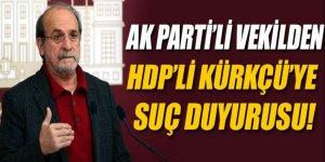 AK Partili Hamza Dağ'dan Ertuğrul Kürkçü hakkında suç duyurusu