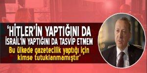 Erdoğan: Gazetecilik yaptığı için kimse tutuklanmadı