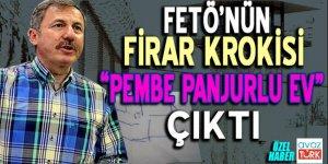 FETÖ'nün firar krokisi 'Pembe Panjurlu Ev' çıktı