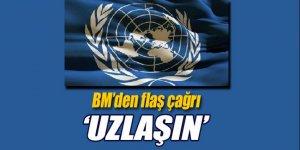 BM'den Kıbrıs liderlerine çağrı!