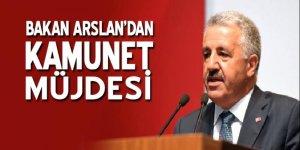 Ulaştırma Bakanı Arslan'dan KamuNet Projesi müjdesi
