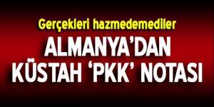 Almanya'dan Türkiye'ye küstah PKK notası