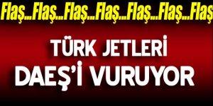 Türk jetleri El Bab'da DEAŞ'ı vuruyor!