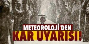 Meteoroloji'den Kar Uyarısı! Kalınlık 30 Santimetreye Çıkacak