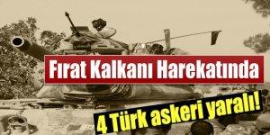 El Bab operasyonunda 4 Türk askeri yaralı!