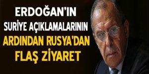 Sergey Lavrov Türkiye'ye geldi!