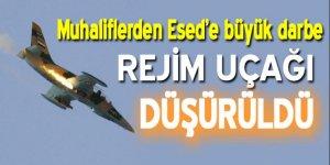 Esed rejimine ait uçak düşürüldü!