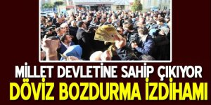 İstanbul'da 'döviz bozdurma' izdihamı yaşandı