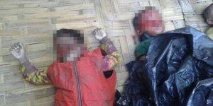Arakan'da 10 çoçuk ölü olarak bulundu