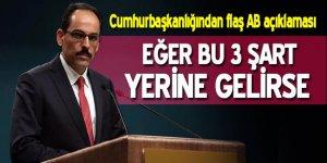 Son dakika haberi: Cumhurbaşkanlığı Sözcüsü İbrahim Kalın'dan flaş açıklamalar