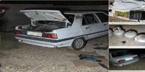Mardin'de bomba yüklü araç ele geçirdi