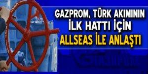 Gazprom, Türk Akımı'nın ilk hattı için Allseas ile anlaştı