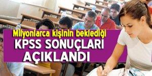Ortaöğretim KPSS sonuçları açıklandı!
