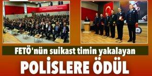 Cumhurbaşkanı'na suikast düzenleyen timi yakalayan polislere ödül
