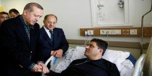 Cumhurbaşkanı Erdoğan'dan yaralılara ziyaret