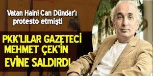 Gazeteci Mehmet Çek'e saldırı