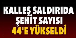 Beşiktaş'ta yaşanan terör saldırısında şehit sayısı arttı