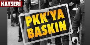 PKK'ya baskın: 7 gözaltı