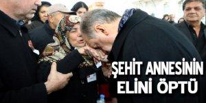 Cumhurbaşkanı Erdoğan, şehit cenazesine katıldı