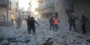 Esed rejimi Halep'te katliam yaptı